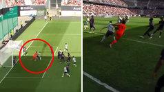 Buffon se 'come' un bloqueo y recibe de Javi Martínez su primer gol con el PSG