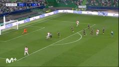 Gol de Haller (1-5) en el Sporting Portugal 1-5 Ajax