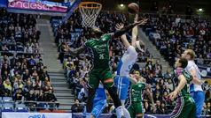 Liga ACB. Resumen: Obradoiro 89-86 Unicaja