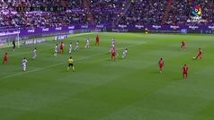 Gol de Oro (J32). Gol de Arambarri (0-1) en el Valladolid 2-2 Getafe