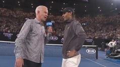 """McEnroe desat� las risas de la grada: """"He visto a Nadal desnudo en el ba�o"""""""