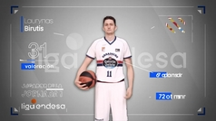 Birutis hace líder al Obradoiro a ritmo de MVP