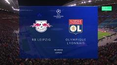 Champions League (fase de grupos): Resumen y goles del RB Leipzig 0-2 Lyon