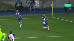 Gol de Bentaleb (p.) (2-1) en el Oporto 3-1 Schalke