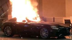 Arrasan un concesionario de Mercedes durante los disturbios por la muerte de George Floyd