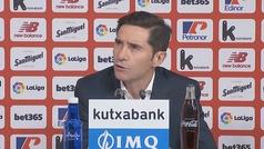 """Marcelino: """"La jugada del gol es imposible de enjuiciar porque no la vi repetida"""""""