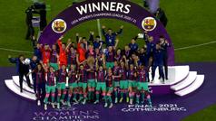 Los mejores momentos de la final de la Champions League femenina: Chelsea 0-4 Barcelona