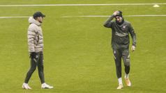 El Atlético prepara el partido ante el Eibar sin Hermoso