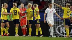 Mundial femenino 2019: Resumen y goles del Suecia 1-0 Canadá