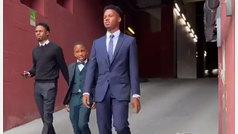 El 'look' del hermano de Ansu Fati que incendia las redes: así fue Miguelito