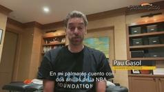 Pau Gasol y otro olímpicos se unen a Teresa Perales en el día Internacional de la Discapidad