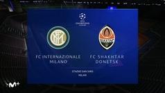 Champions League (Grupo B): Resumen y goles del Inter 0-0 Shakhtar