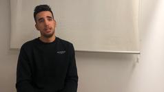 """Héctor Sáez: """"Me pondría un 8, aunque la temporada no arrancó bien"""""""