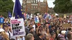 Indignación en el Reino Unido por la suspensión del Parlamento