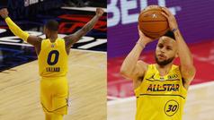 Curry y Lillard: 16 triples, el pique más largo y una obra de arte final para enmarcar