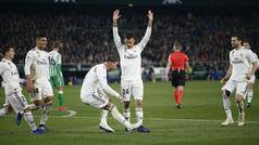 LaLiga (J19): Resumen y goles del Betis 1-2 Real Madrid