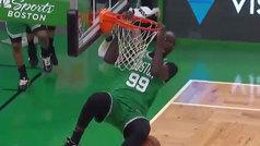El show de Tacko Fall y sus 2,26 que hace enloquecer a toda la NBA