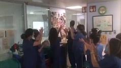 Alegría en Málaga: extuban a un bebé de cuatro meses con coronavirus