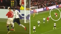 Gol de Cristiano (3-2) en el Manchester United 3-2 Atalanta