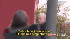 Así fue la 'agresión' a Eduardo Inda en los pasillos de Telecinco