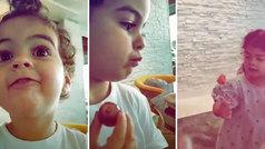 """La merienda sana de los hijos de Cristiano: """"No, chocolate no. Papá enfadar"""""""