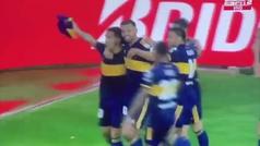 El homenaje que faltaba, gol de Boca, gol de Tévez y un relato inolvidable, ojalá lo escuchase el 10