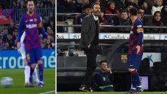 """Vicente Moreno tras su discusión con Messi: """"Hay jugadores que están en una burbuja y no se puede ra"""