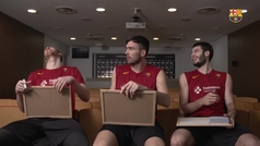 Claver, Oriola y Abrines se retan en un juego de preguntas durante el confinamiento del equipo