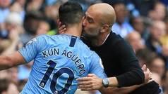 """Guardiola, tras la renovación de Agüero: """"Demuestra cada día su compromiso"""""""