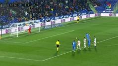 Gol de Jaime Mata (p.) (1-0) en el Getafe 4-0 Alavés