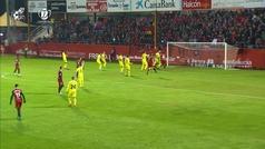 Gol de Odei (3-2) en el Mirandés 4-2 Villarreal