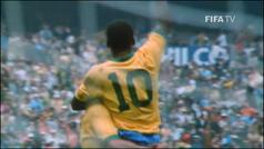 Así fue la icónica celebración de Pelé en la final del Mundial 1970