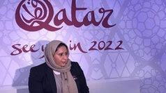"""Fatma Al Nuaimi: """"Para el año 2021, todos los estadios de Qatar estarán terminados"""""""
