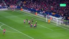Gol de Giménez (1-0) en el Atlético 2-0 Juventus