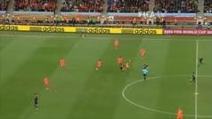 10º Éxtasis con el gol de Iniesta