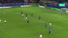 Gol de Cheryshev (4-1) en el Atalanta 4-1 Valencia