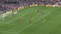 Gol de Messi (1-0) en el Barcelona 2-2 Girona