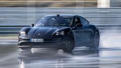 El derrape más largo del mundo... de un coche eléctrico