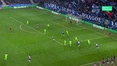 Gol de Corona (2-0) en el Oporto 3-1 Schalke