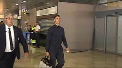 Cristiano se marcha de Valencia tras su complicado estreno en la Champions