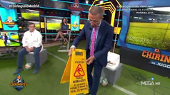 El último 'juguete' de Cristóbal Soria para burlarse de los penaltis del Real Madrid