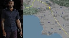 El trayecto y la conversación del vuelo del helicóptero en el que viajaba Kobe Bryant