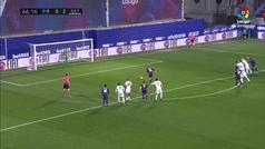 Gol de Charles (p.) (1-2) en el Eibar 2-2 Getafe