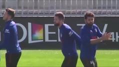 El Atlético entrena sin Jan Oblak