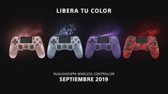 Sony presenta cuatro nuevos diseños para los DualShock 4 de PS4 que se lanzarán en septiembre