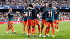 Champions League (fase de grupos): Resumen y goles del Valencia 0-3 Ajax