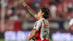 Necaxa vs Puebla: Los Rayos vienen de atrás para empatar a La Franja