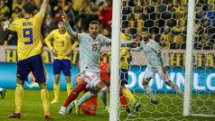 Fase clasificación EURO 2020: Resumen y goles del Suecia 1-1 España