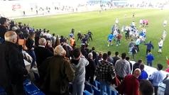 Ultras del Xerez CD agreden a jugadores del Écija Balompié