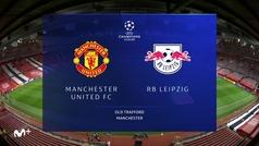 Champions League (J2): Resumen y goles del Manchester United 5-0 RB Leipzig